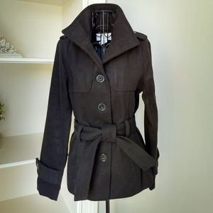 Jacket Military Style Size Small Ellen Tracey